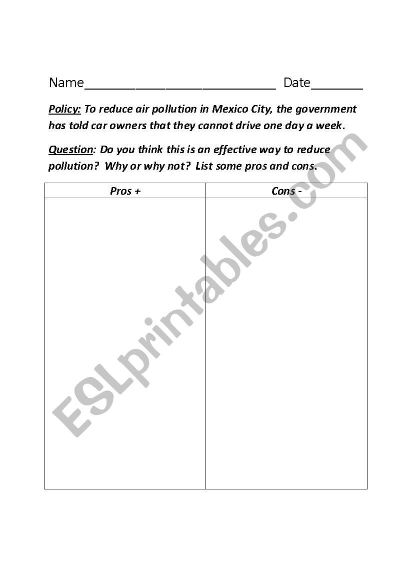 5 themes Of Geography Worksheet 5 themes Of Geography Esl Worksheet by Knausedas