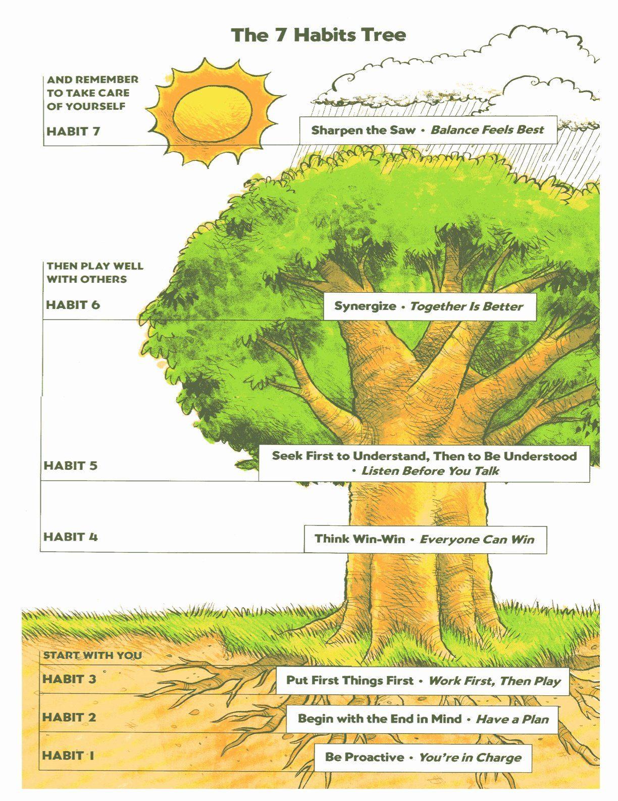 7 Habits Worksheet Pdf 50 7 Habits Worksheet Pdf