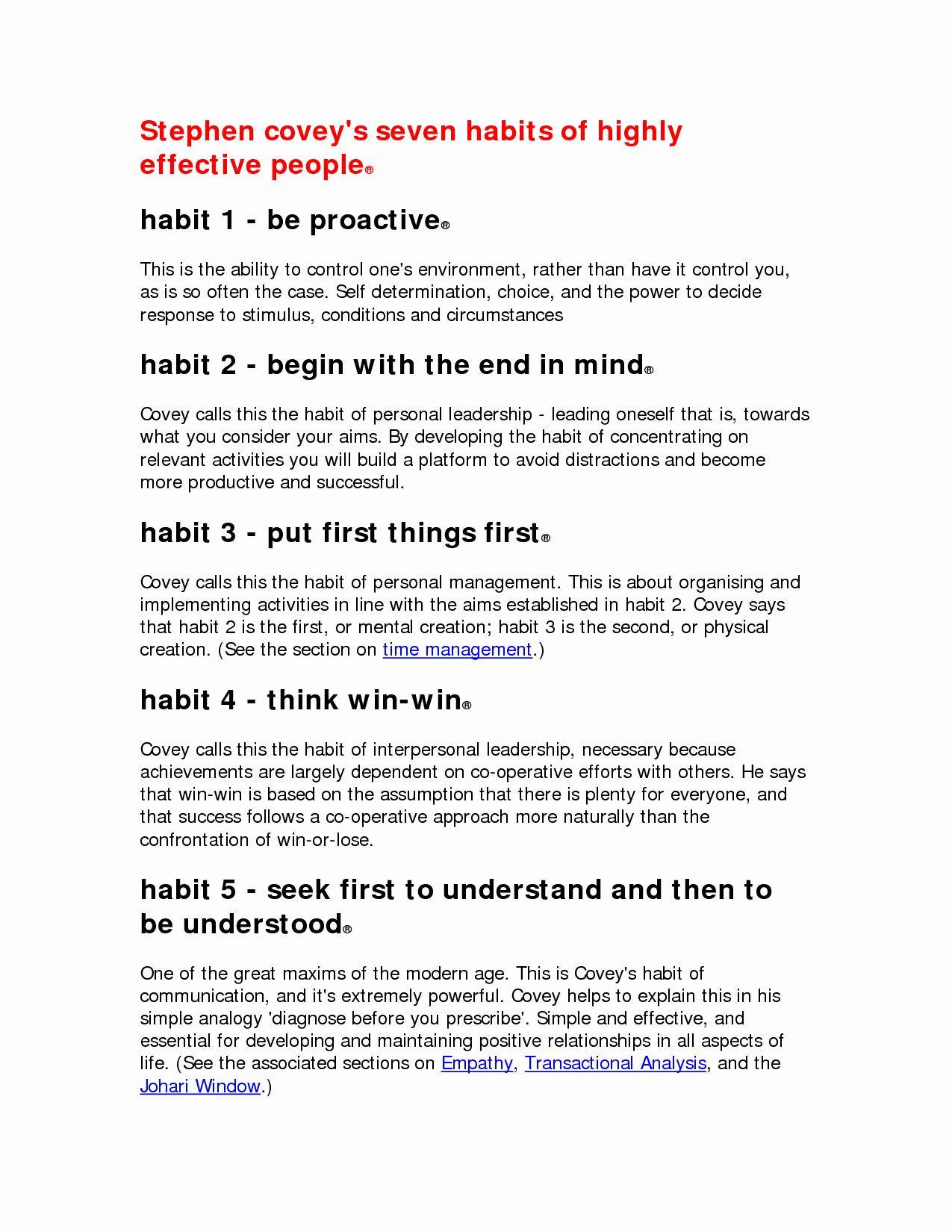 7 Habits Worksheet Pdf Pin On Team Motivation