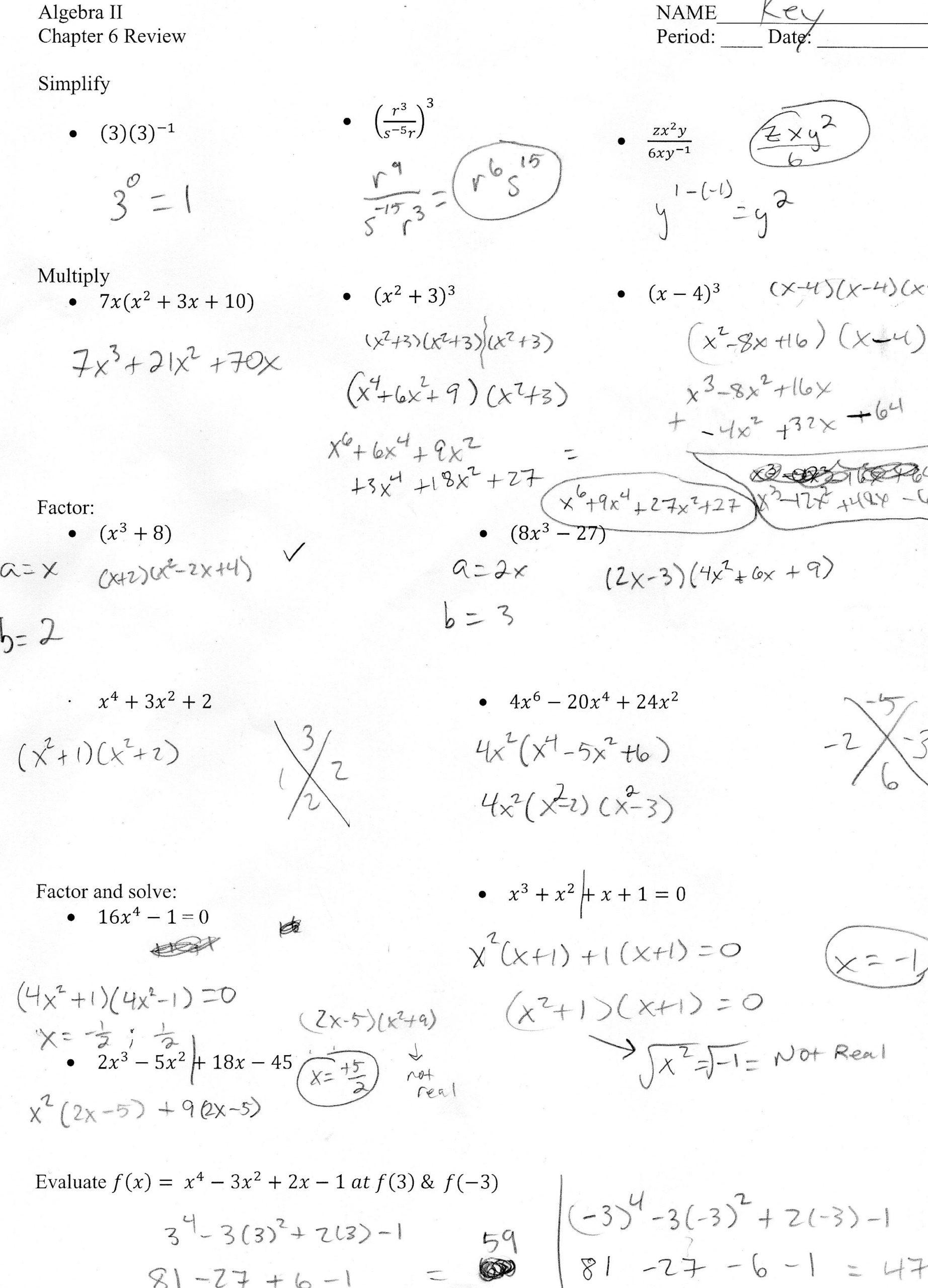 Algebra 1 Review Worksheet 1st Grade Printable Activities Free 2nd Grade Math