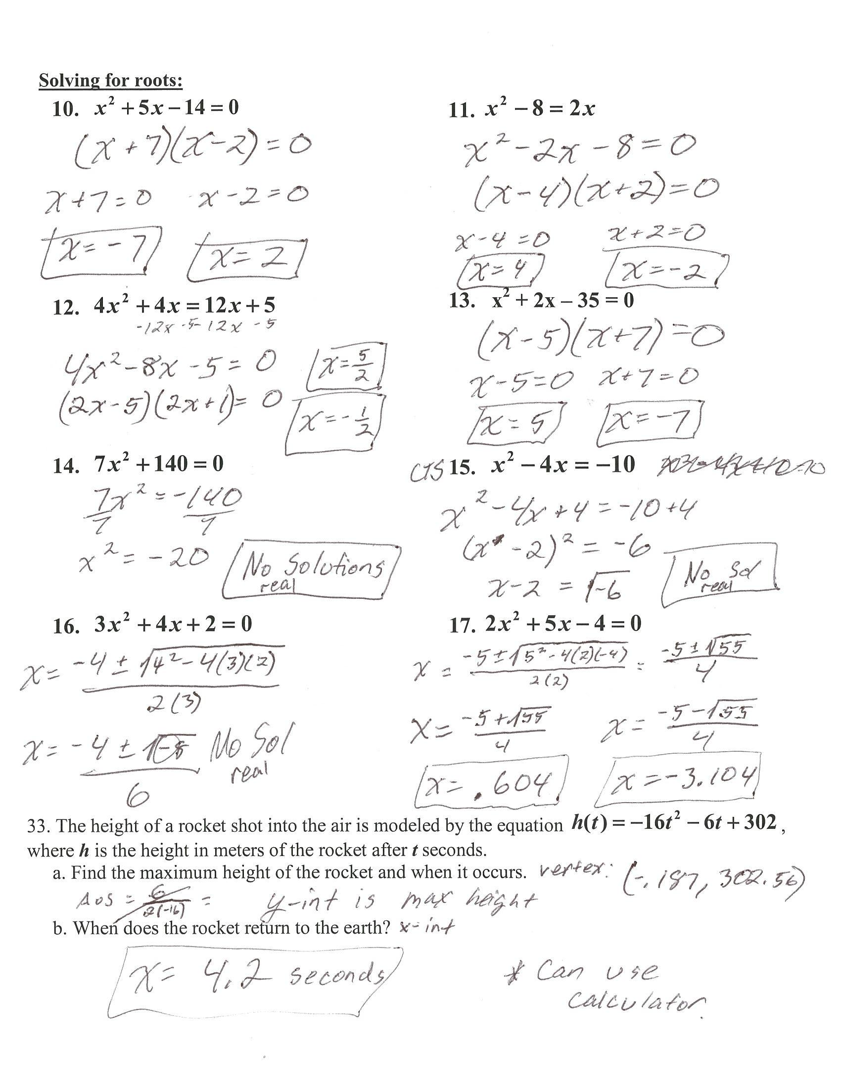 Algebra 1 Review Worksheet Algebra 1 Review solving Equations Answers Tessshebaylo