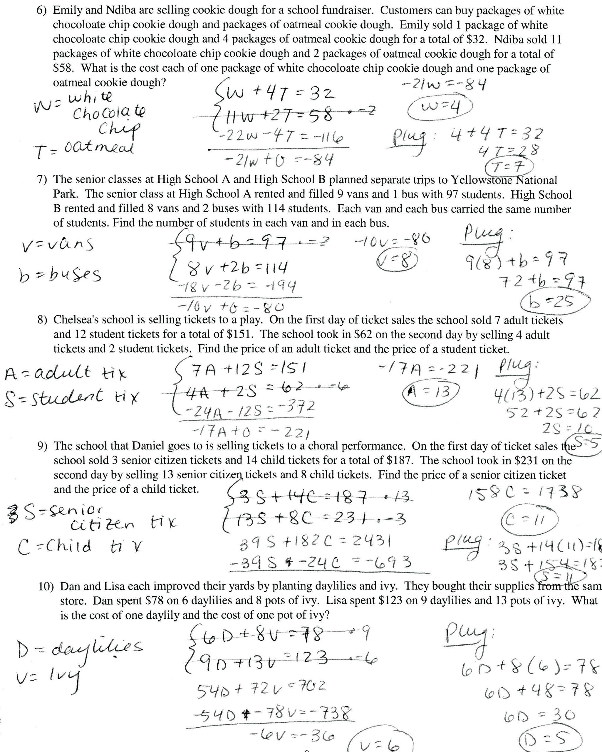 Algebra Word Problems Worksheet Pdf Slope Word Problems Worksheet Promotiontablecovers
