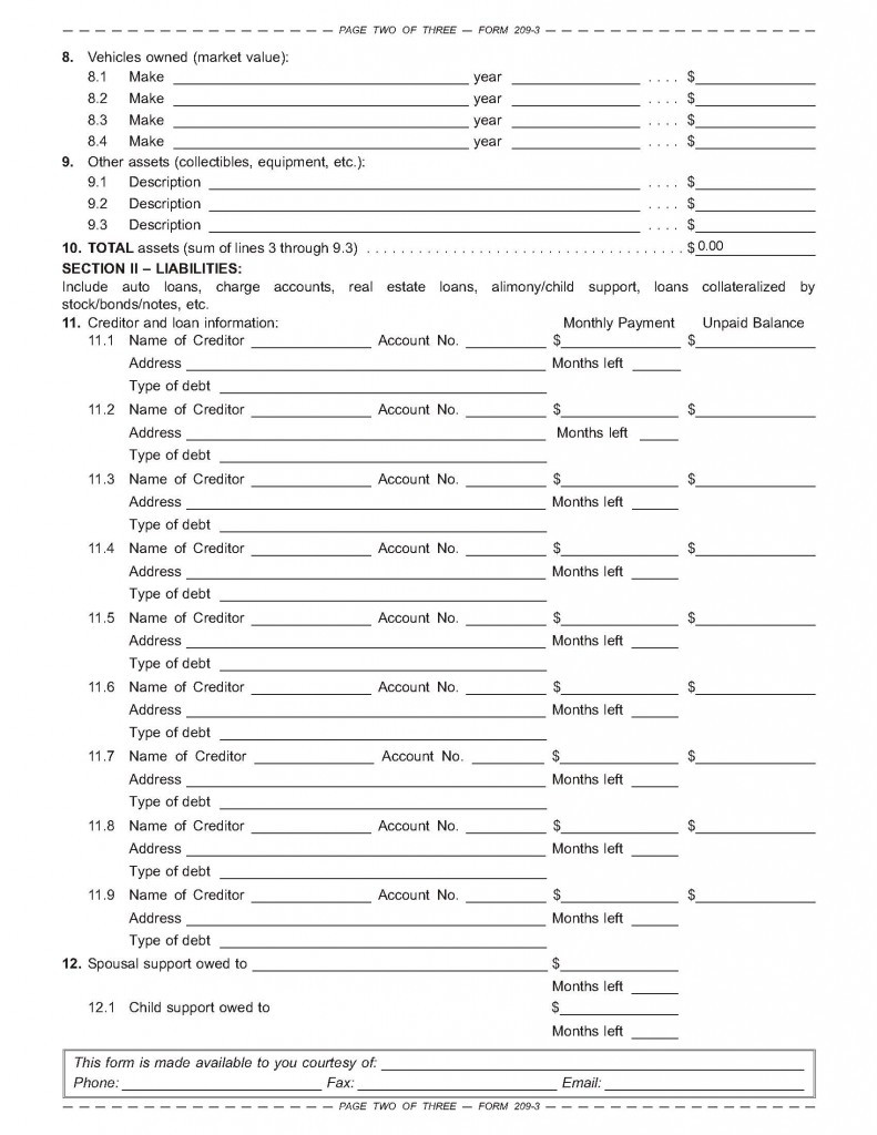 Assets and Liabilities Worksheet the asset Liability and Net Worth Balance Sheet