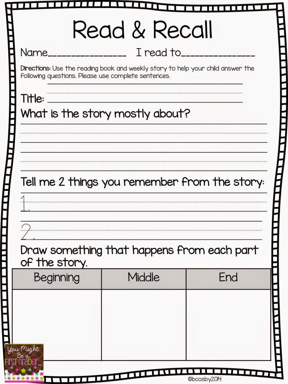 Beginning Middle End Worksheet Worksheet Worksheet You Might Firstader Reading