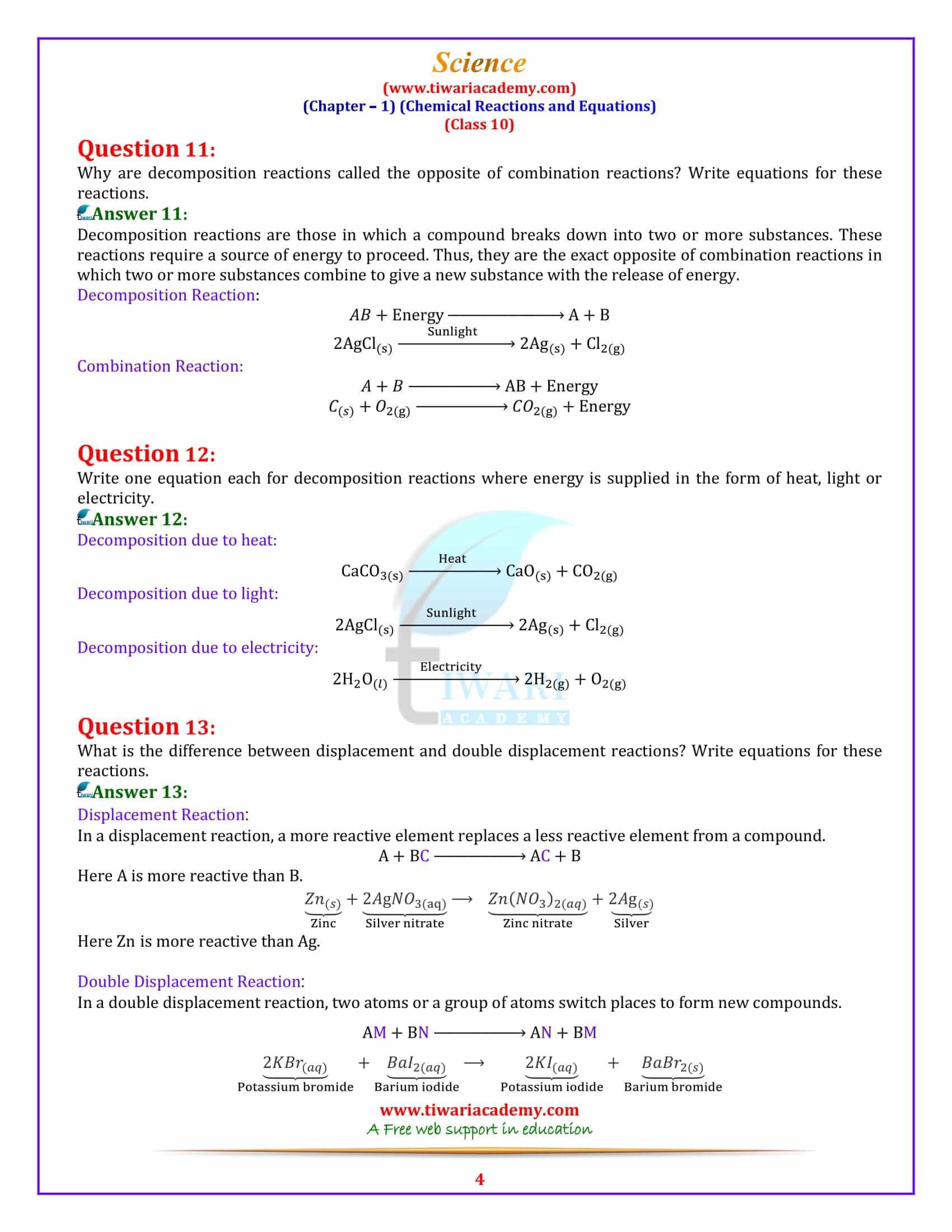 Bill Nye Chemical Reactions Worksheet 10 1 Worksheet Chemical Reactions