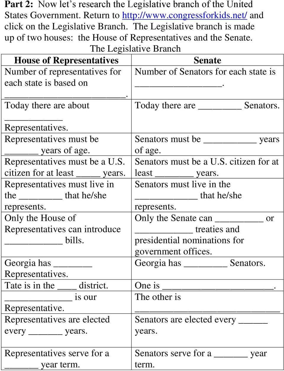Branches Of Government Worksheet Pdf Three Branches Of Government Webquest Pdf Free Download