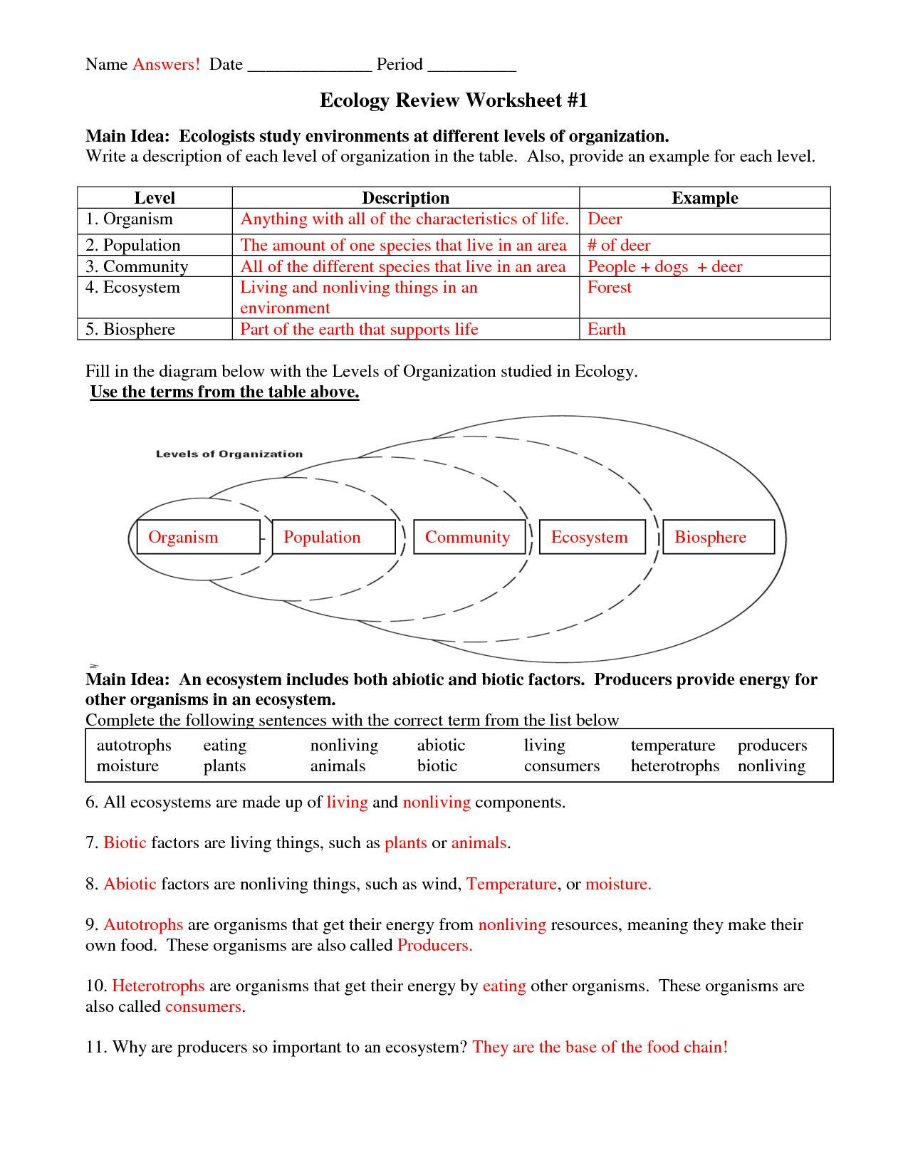 Characteristics Of Life Worksheet Multi Gamer Free 5th Grade Mon Core Math Worksheets