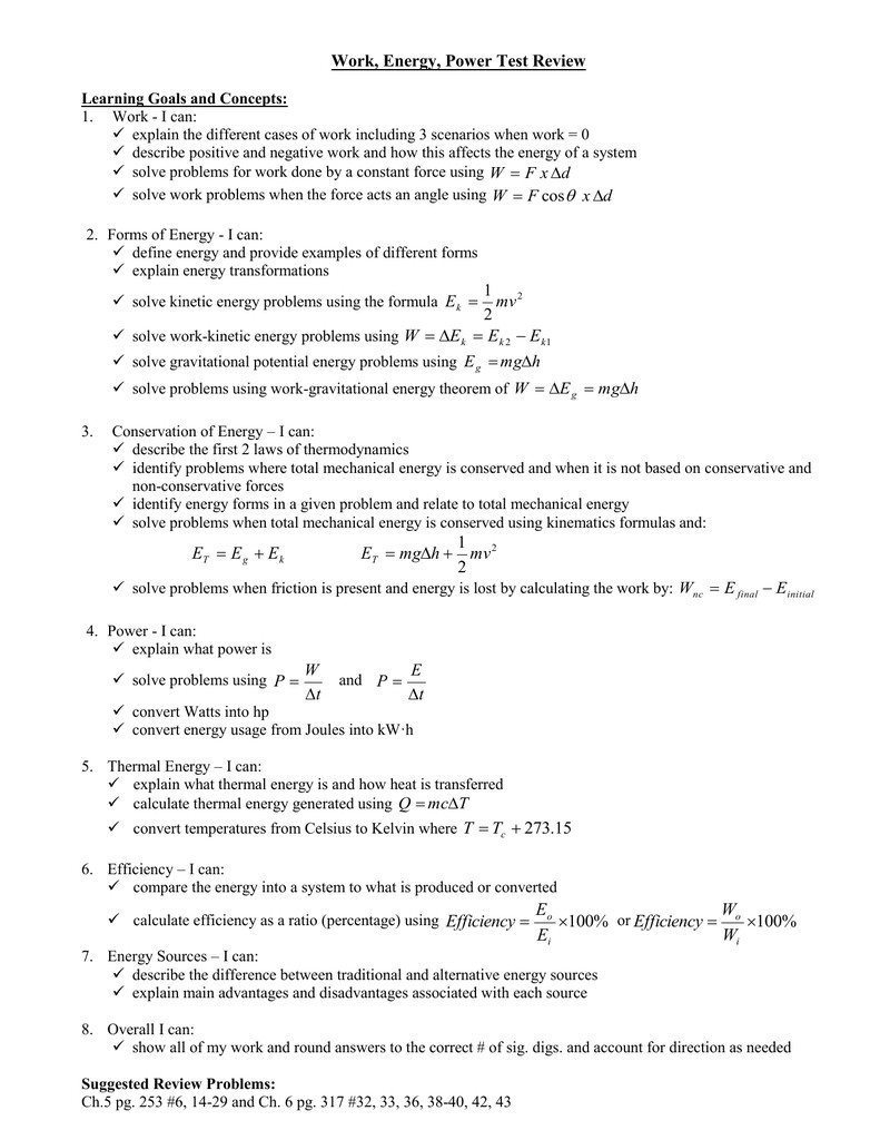 Chemistry Review Worksheet Answers Lovely Energy Review Worksheet