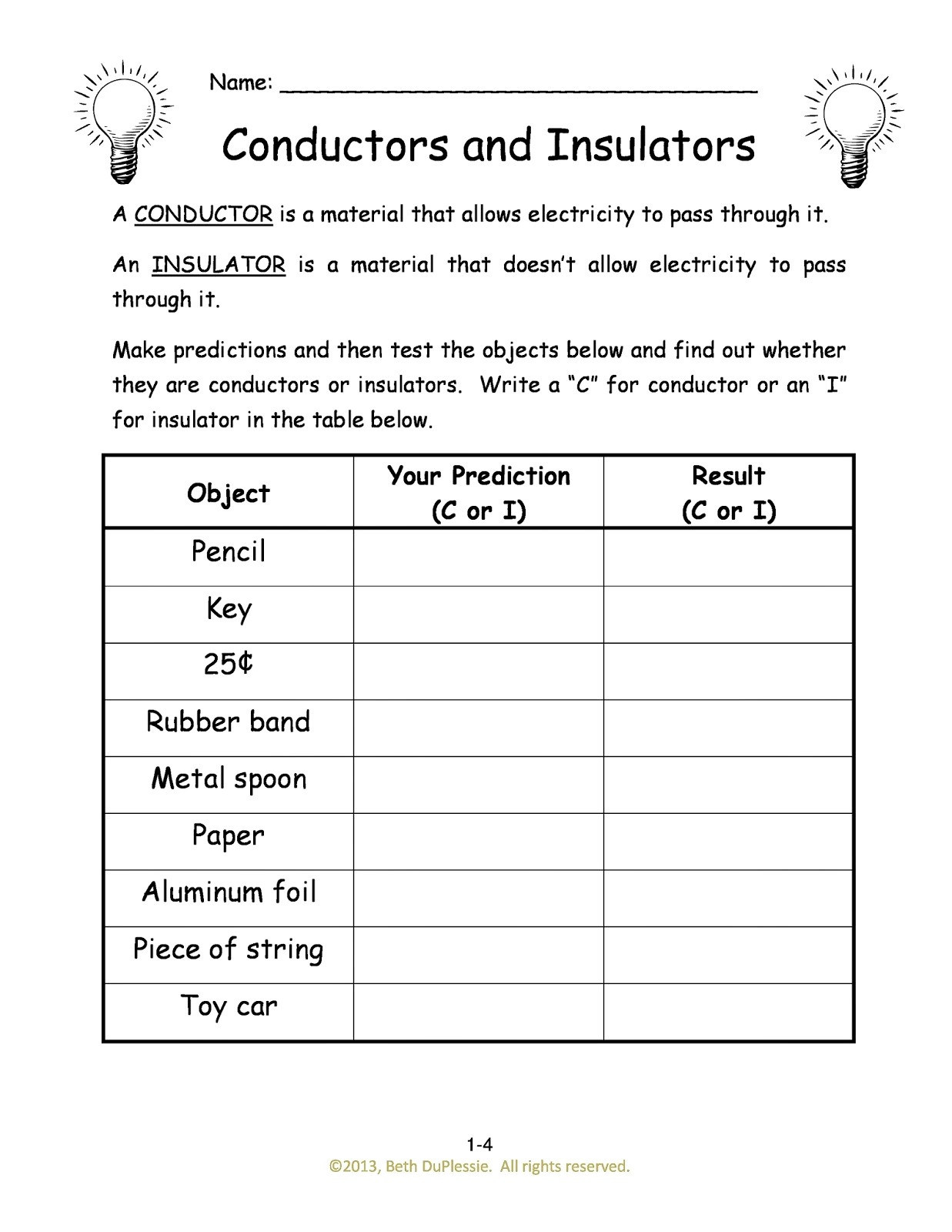Combination Circuits Worksheet with Answers Basic Circuits Worksheet