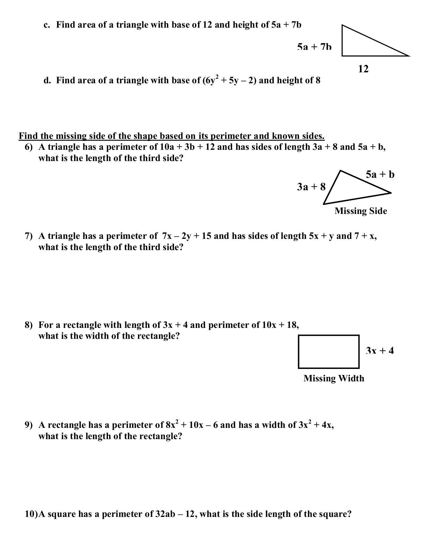 Combining Like Terms Practice Worksheet Bining Like Terms Worksheet with Answers Nidecmege