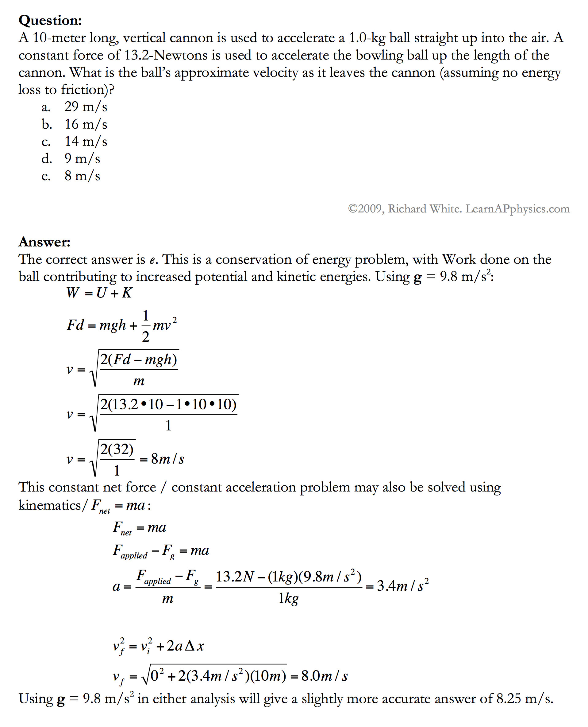 Conservation Of Energy Worksheet Answers Kinetic and Potential Energy Worksheet Ks2