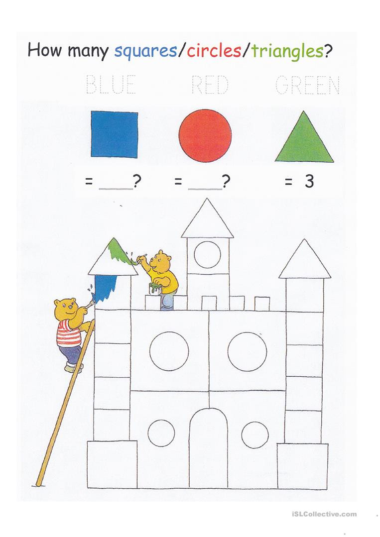 Counting to 20 Worksheet English Esl Counting Worksheets Most Ed 61 Results