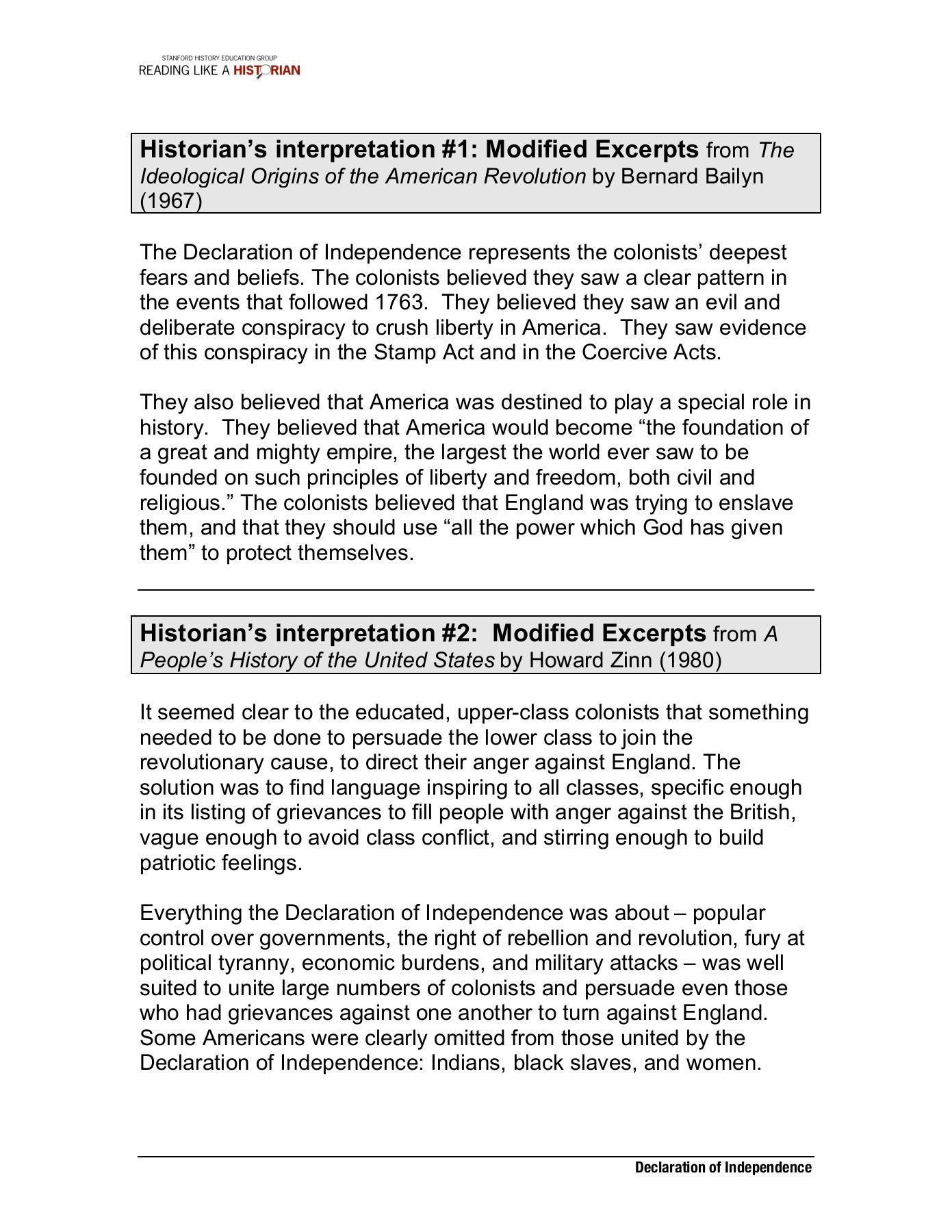 Declaration Of Independence Worksheet Answers Declaration Independence Worksheet Answers Worksheet List