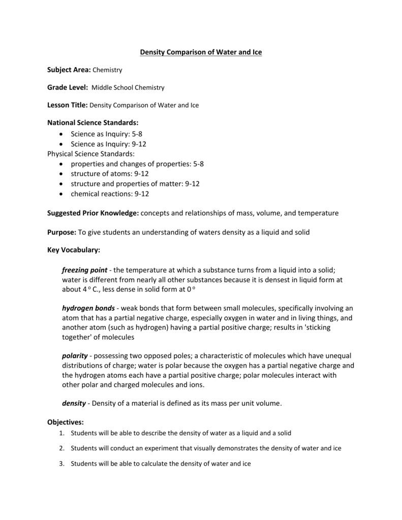 Density Worksheet Middle School Save Right now This No Cost Editable Density Worksheet