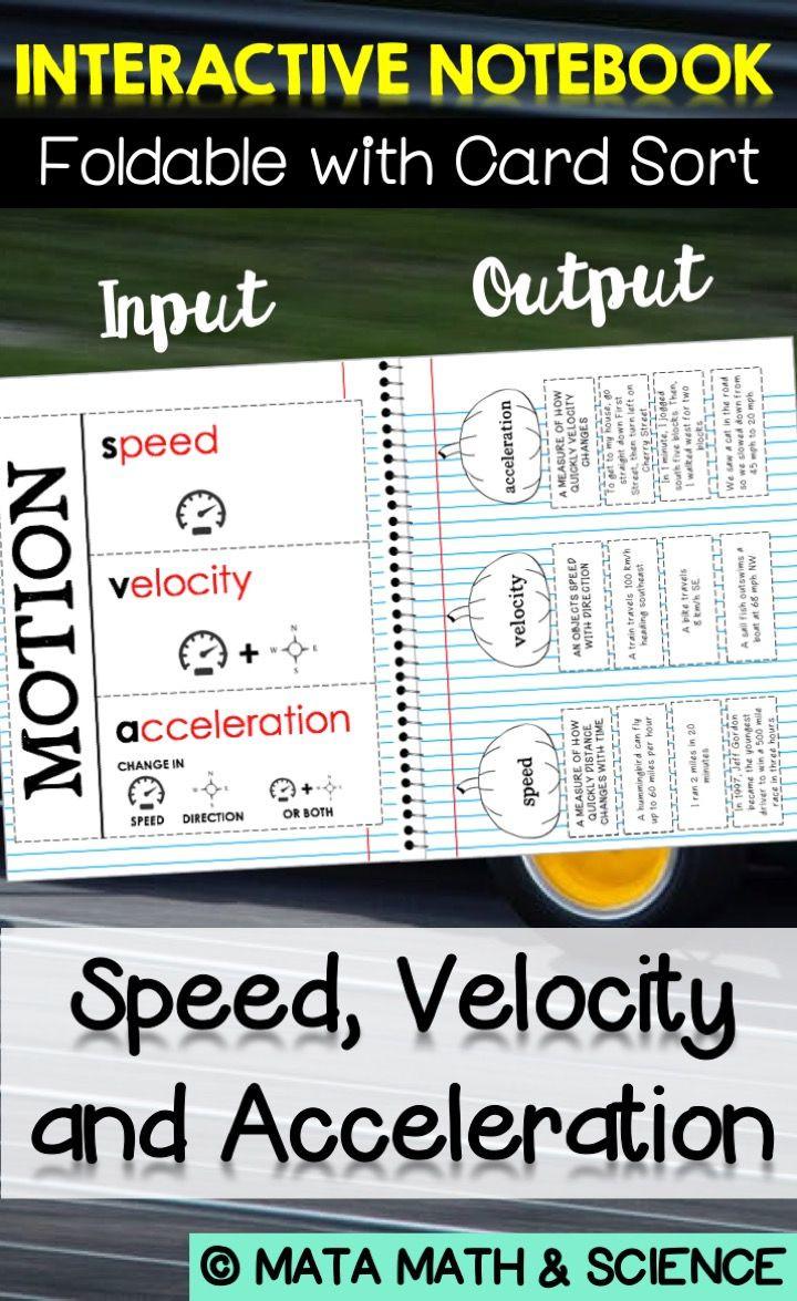 Determining Speed Velocity Worksheet Texas Tek 8 6b Differentiate Between Speed Velocity and