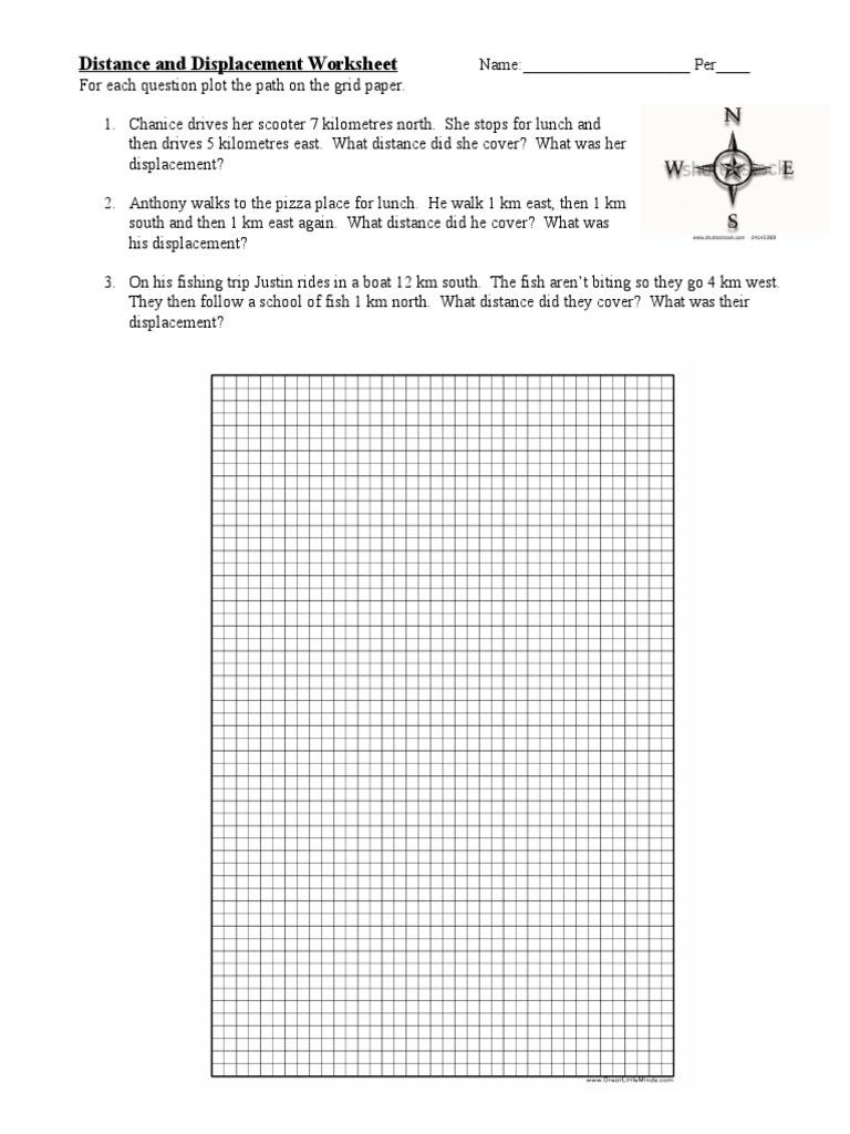 Distance Vs Displacement Worksheet 2014 09 12 Worksheet Distance Vs Displacement