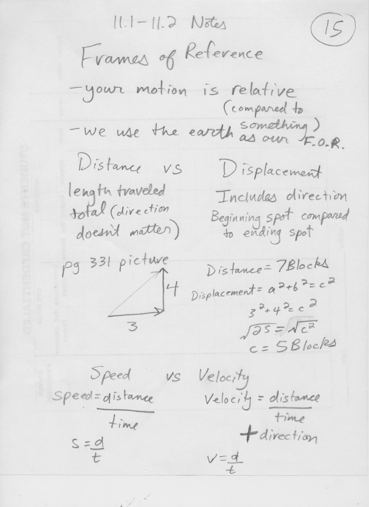 Distance Vs Displacement Worksheet Gilesc [licensed for Non Mercial Use Only] Physics 9