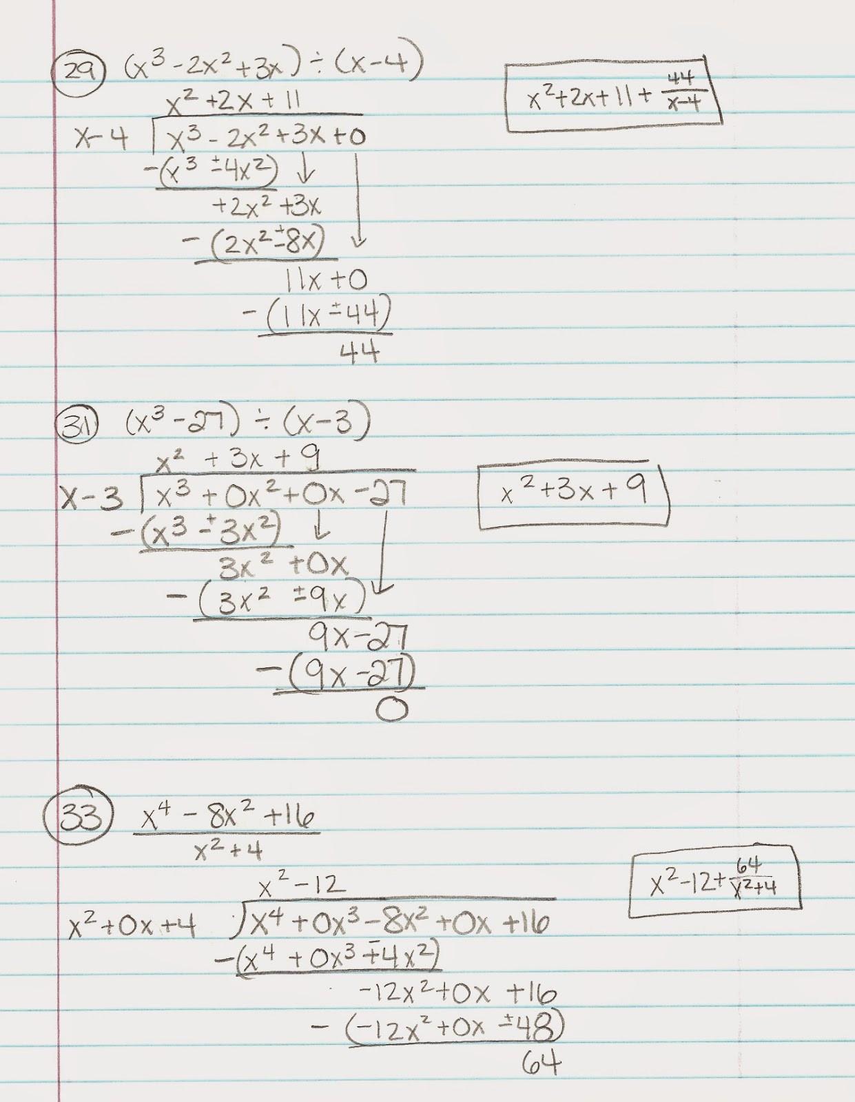 Dividing Polynomials Worksheet Answers Multiplying Polynomials Worksheet Math
