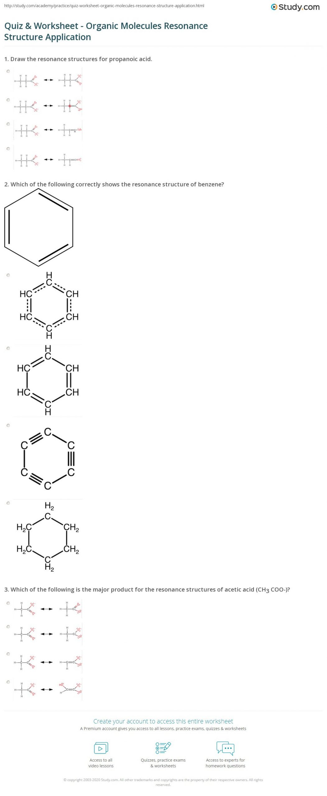 Drawing Lewis Structures Worksheet Drawing organic Structures Worksheet