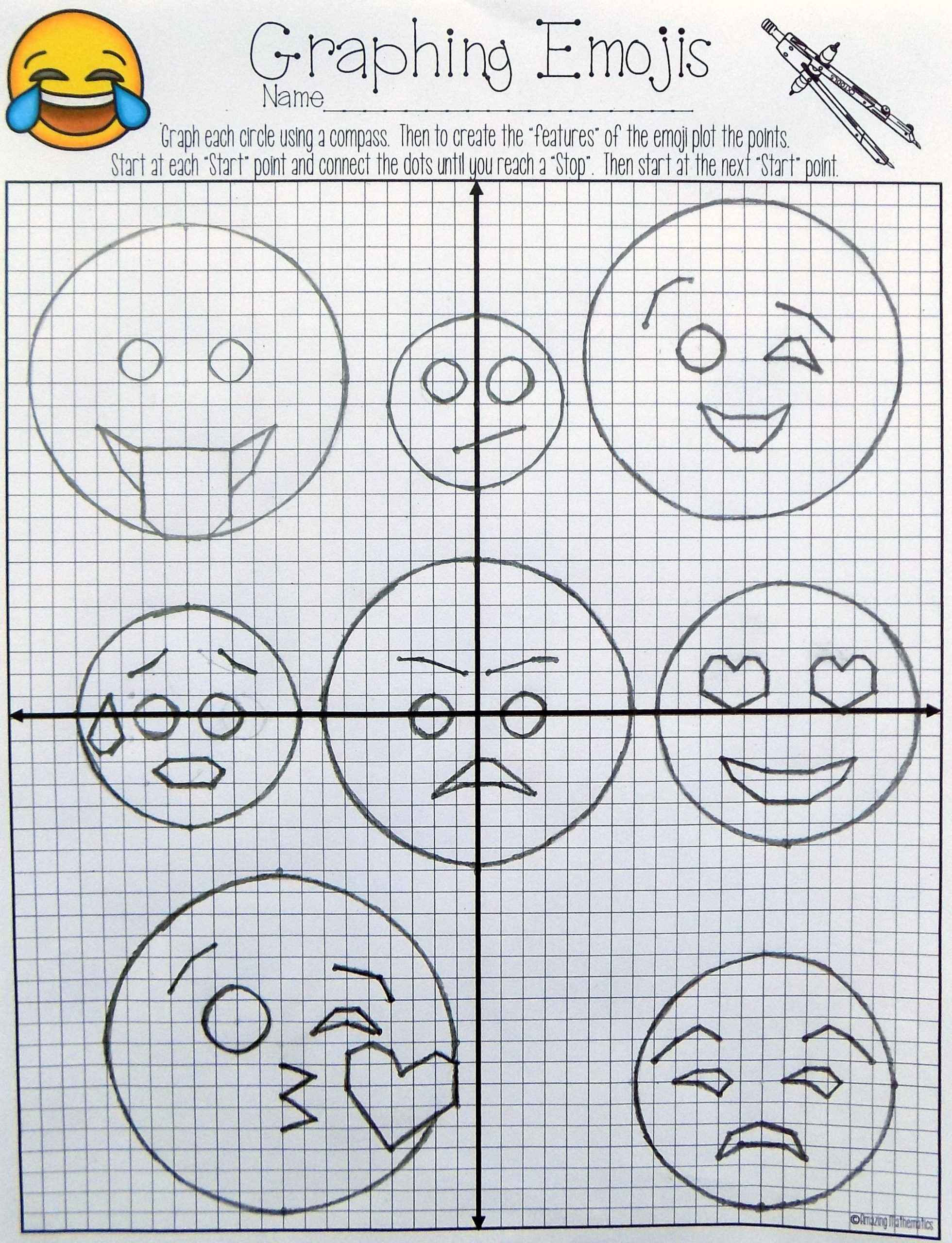 Equations Of Circles Worksheet Equations Of Circles Activity