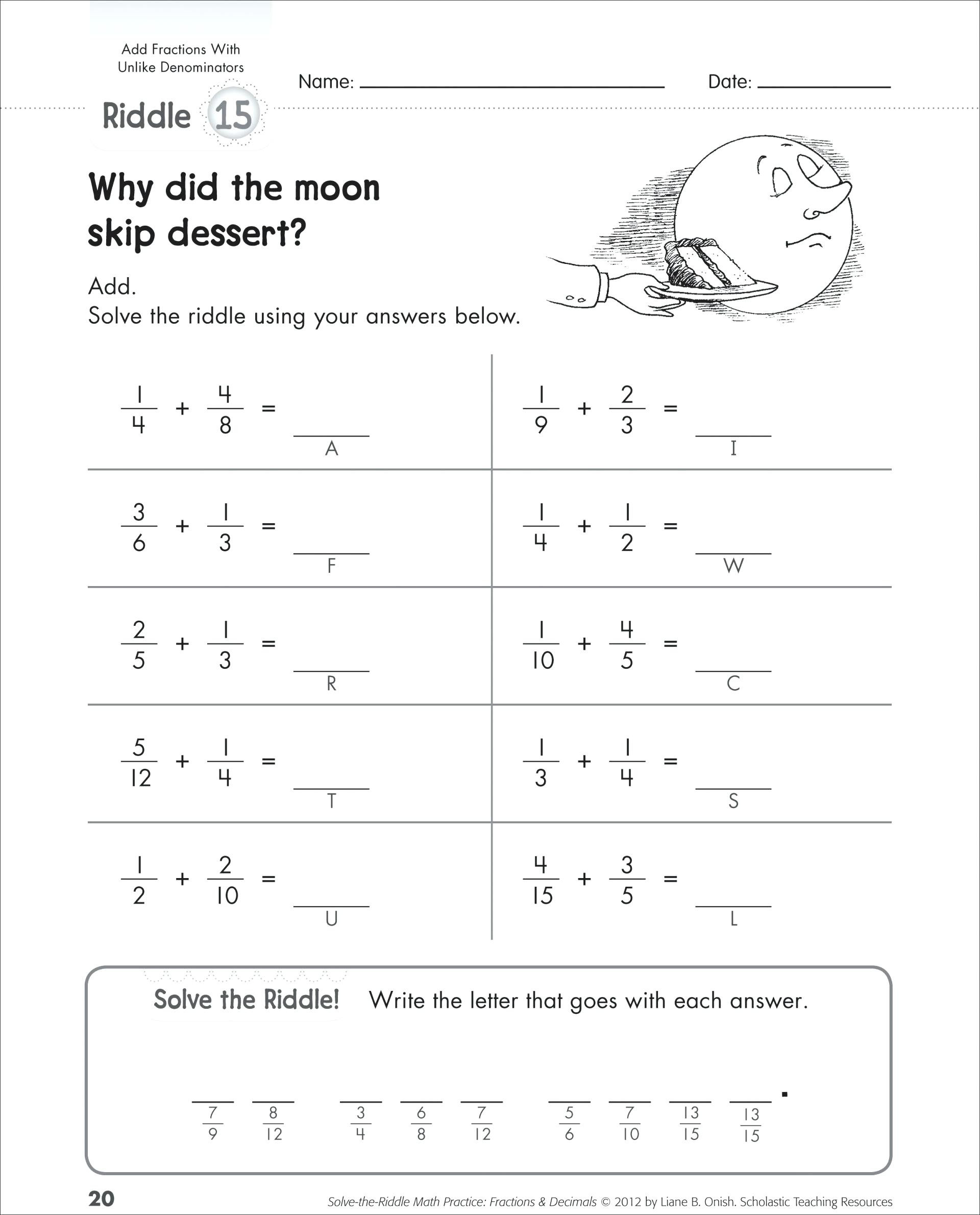 Equations with Fractions Worksheet E Step Equations with Rational Coefficients Worksheet