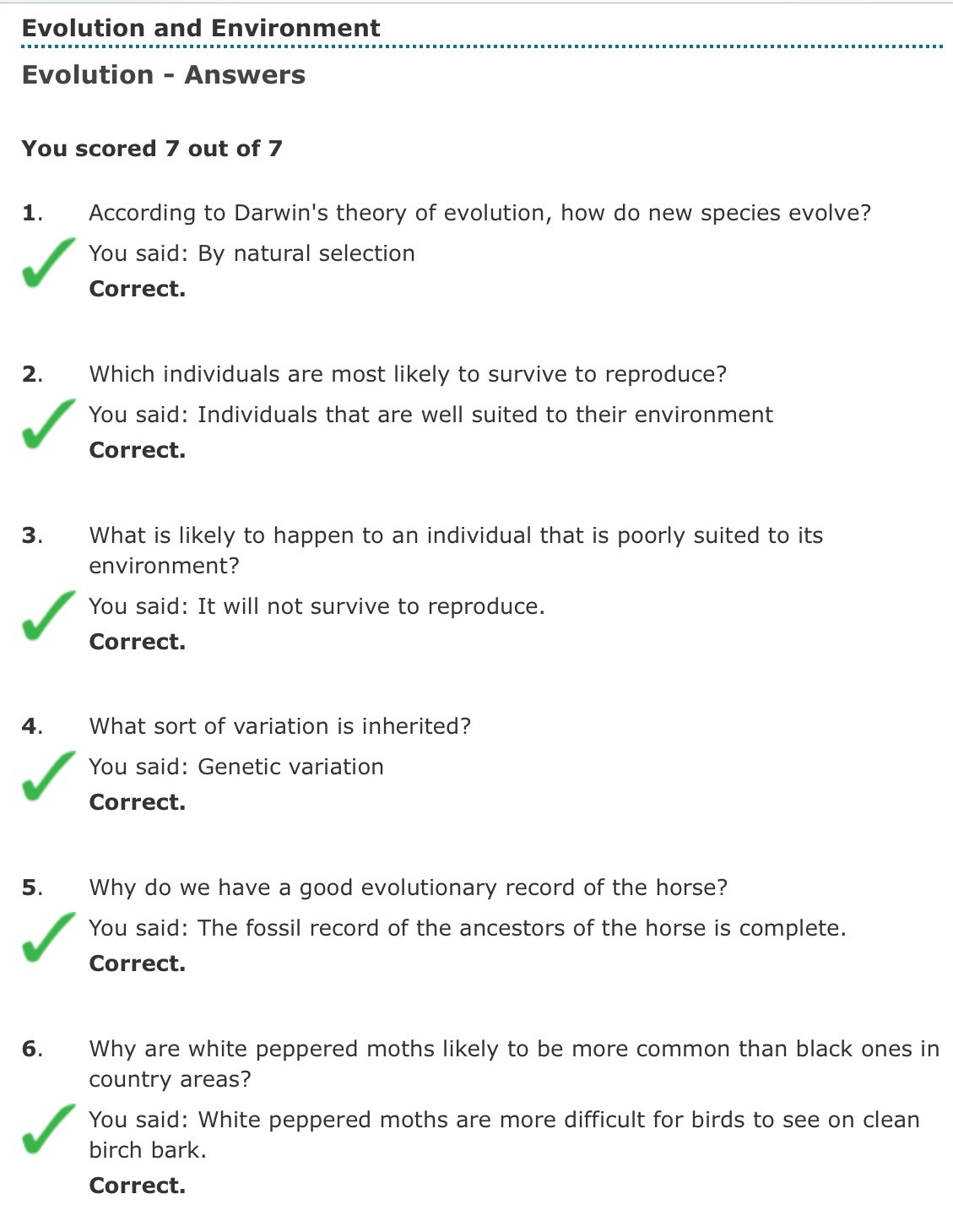 Evidence Of Evolution Worksheet Answers theory Evolution theory Evolution Multiple Choice Questions