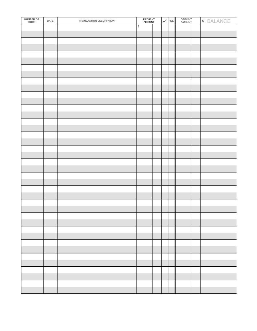Excel Checkbook Register Budget Worksheet Checkbook Register Templates Free Printable Spreadsheet