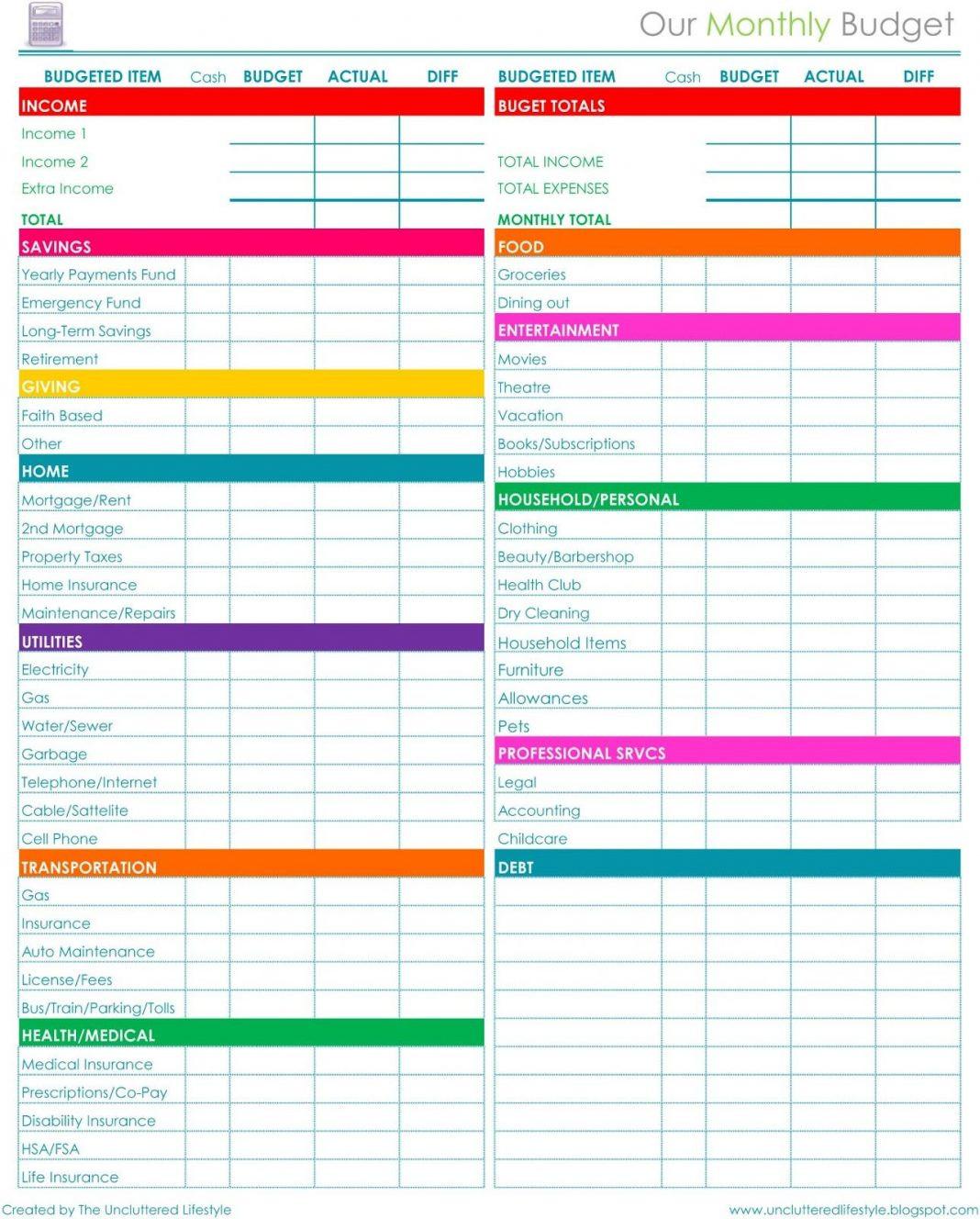 Excel Checkbook Register Budget Worksheet Family Bud with Checkbook Register Spreadsheet Template