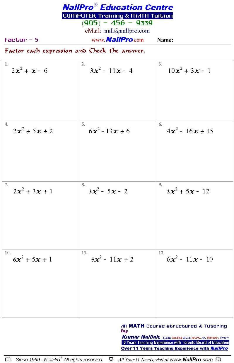 French Worksheet for Kids Sample Worksheets French Math Grade High School Chemistry