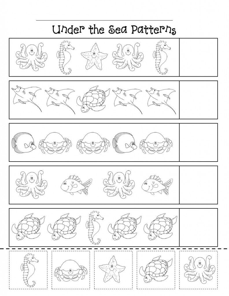 French Worksheet for Kids Worksheet French Flashcards Easy Number Patterns Printable