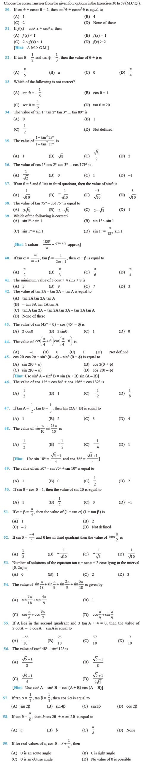 Functions and Relations Worksheet Important Questions for Maths Relations and Functions Grade