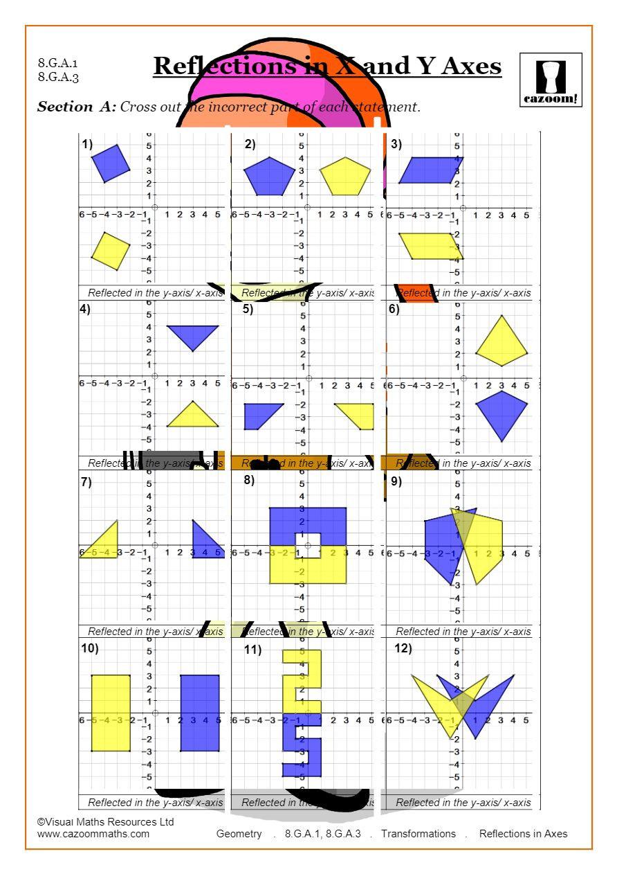 Geometry Transformations Worksheet Pdf Transformations Worksheets Geometry