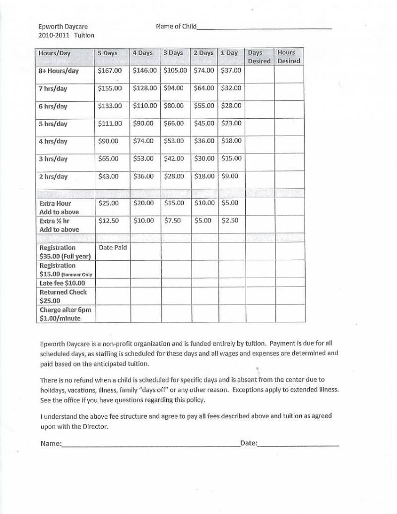 Home Daycare Tax Worksheet why Start Your Own Day Care Center