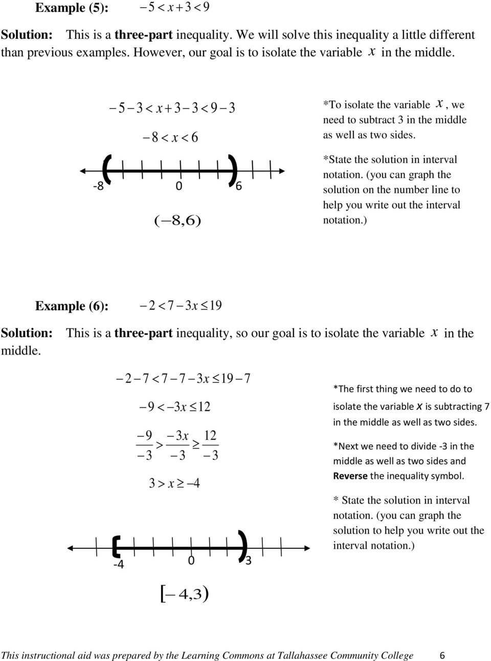 Interval Notation Worksheet with Answers 7 solving Linear Inequalities and Pound Inequalities
