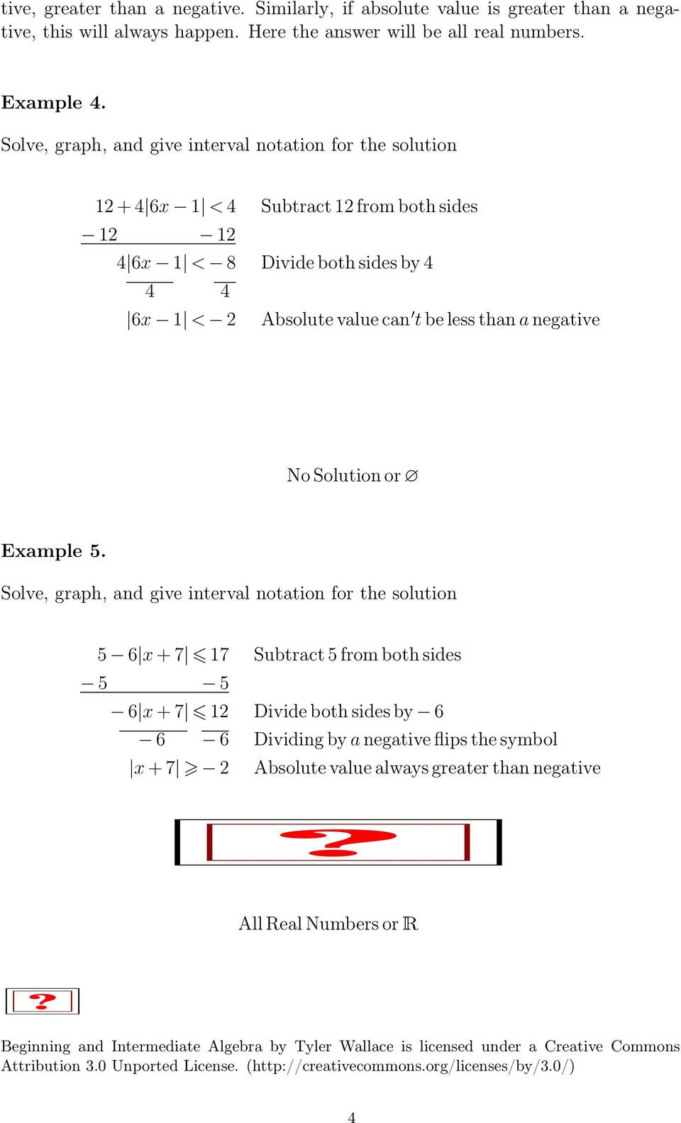 Interval Notation Worksheet with Answers Inequalities Absolute Value Inequalities Pdf Free Download
