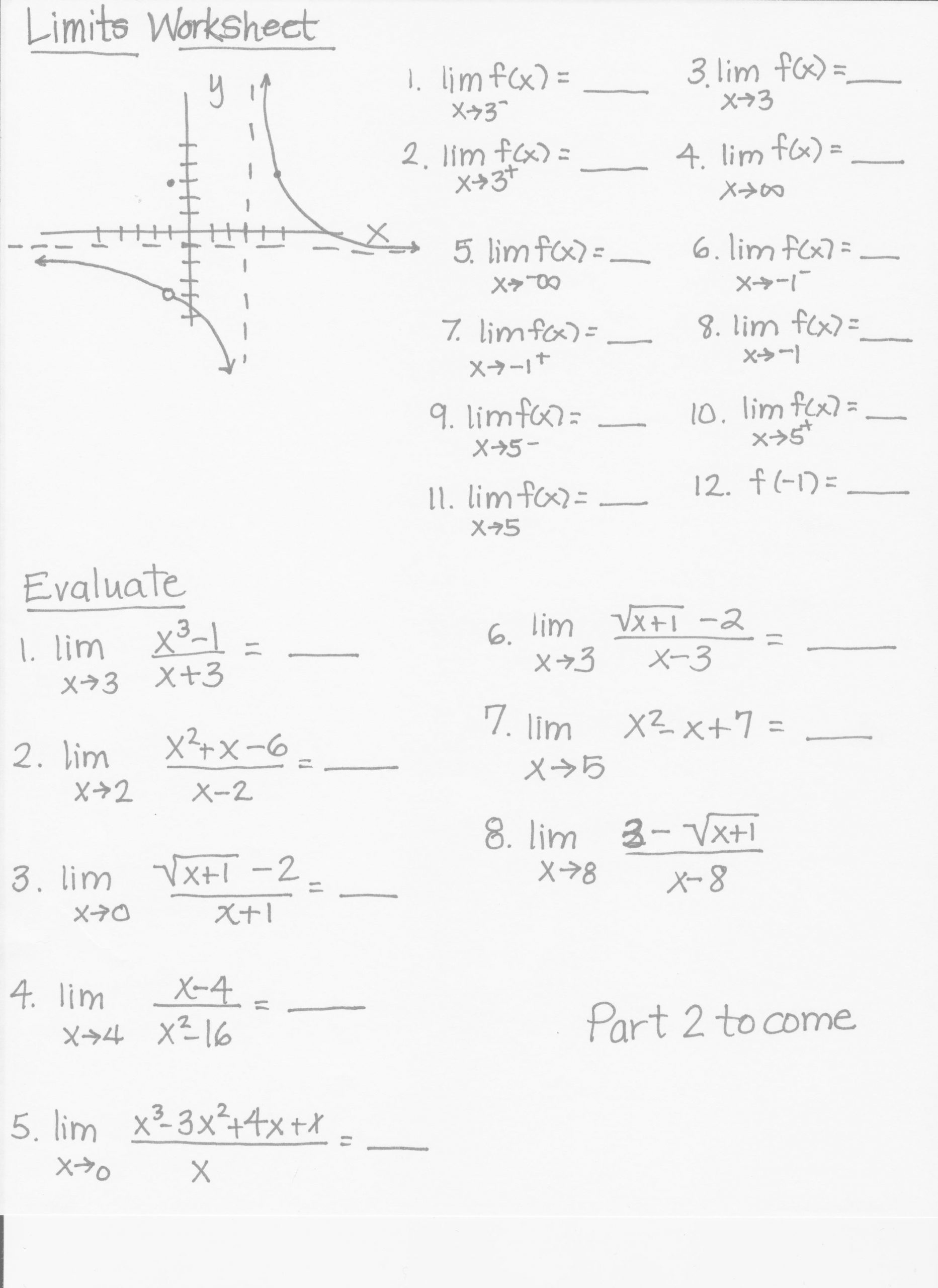 Inverse Trigonometric Functions Worksheet Pre Calculus Honors Mrs Higgins