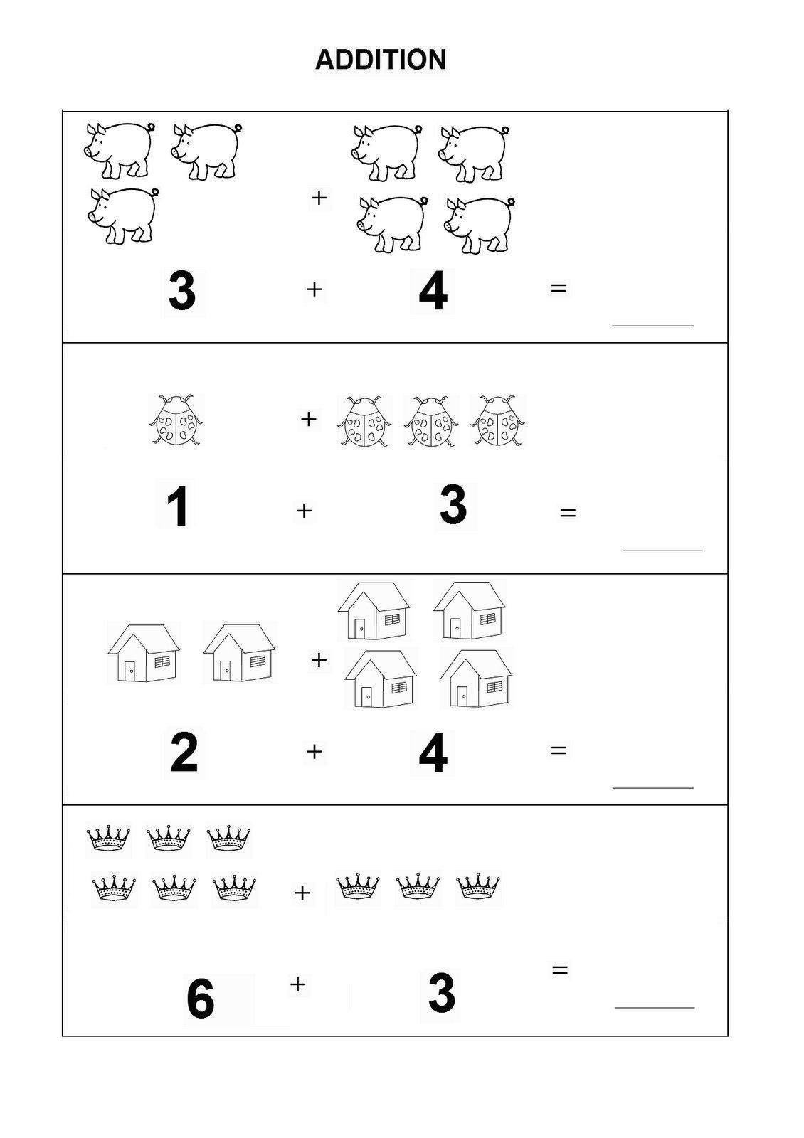 Kindergarten Math Worksheet Pdf Introductory Kindergarten Math Worksheets Pdf