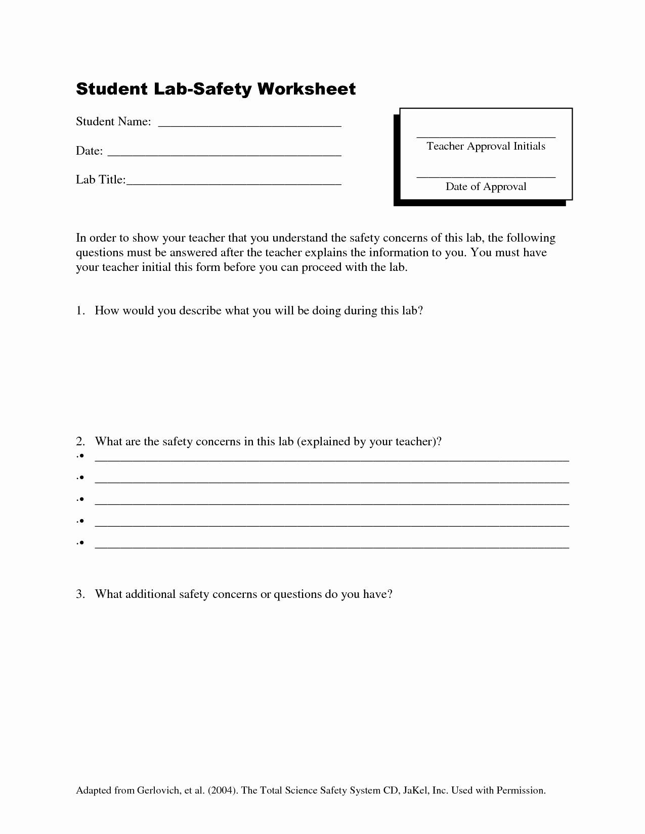 Lab Safety Worksheet Pdf Pin On Customize Design Worksheet Line