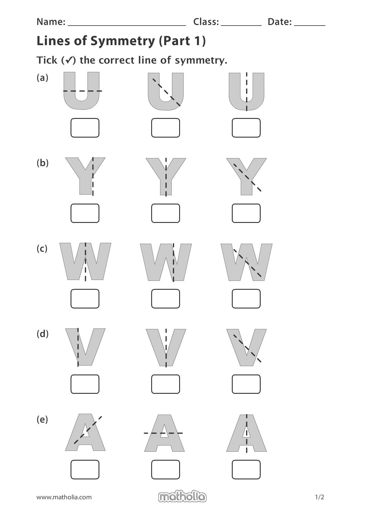 Line Of Symmetry Worksheet Lines Of Symmetry Part 1 In 2020