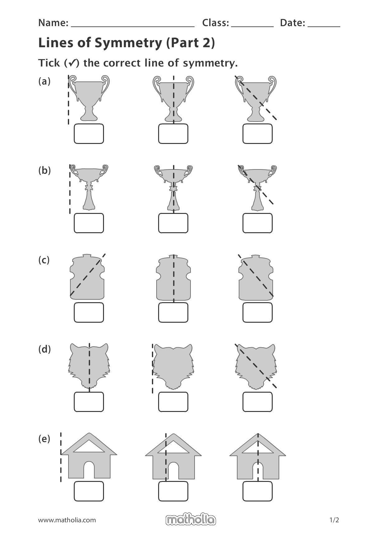 Line Of Symmetry Worksheet Pin On Matholia Printables – Grade 4
