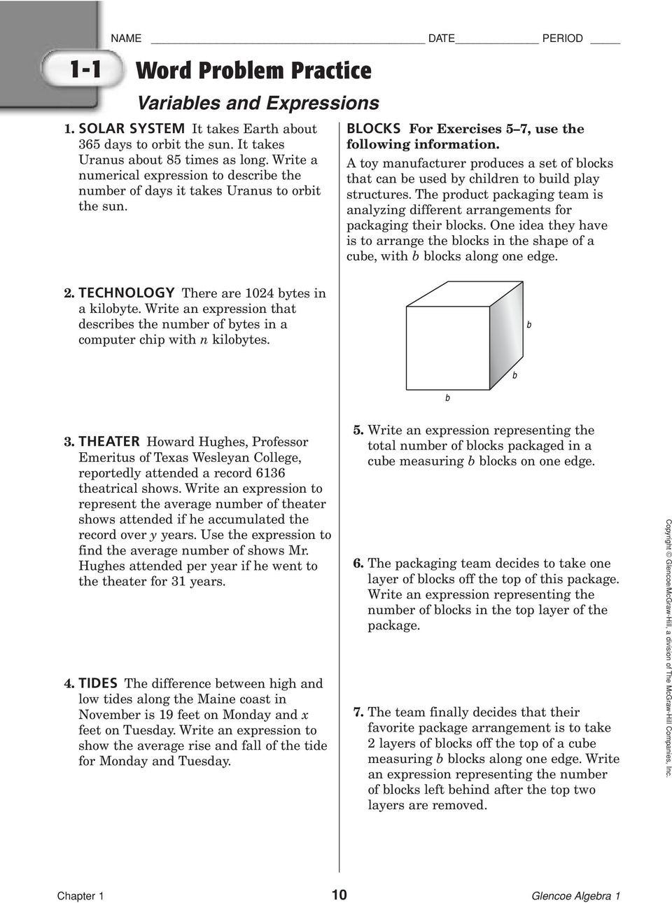 Linear Function Word Problems Worksheet 6 5 Word Problem Practice Applying Systems Linear