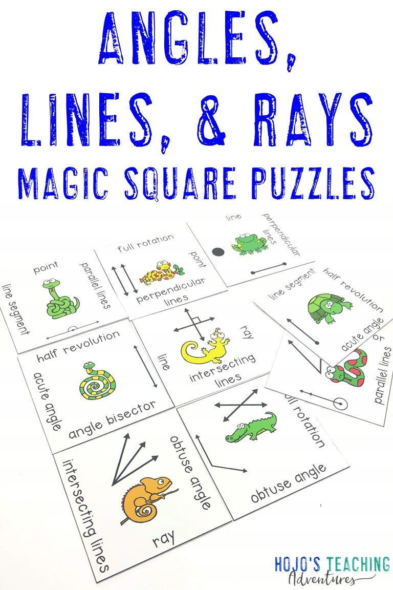 Lines and Angles Worksheet Lines and Angles Activities