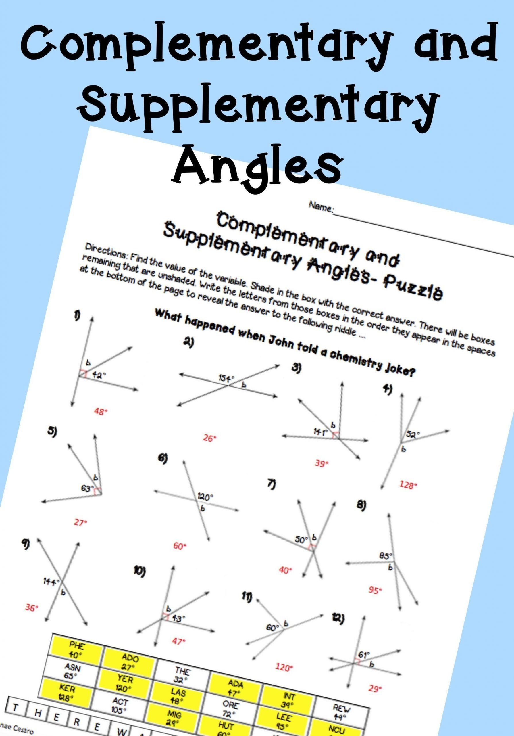 Lines and Angles Worksheet Pin On Printable Blank Worksheet Template