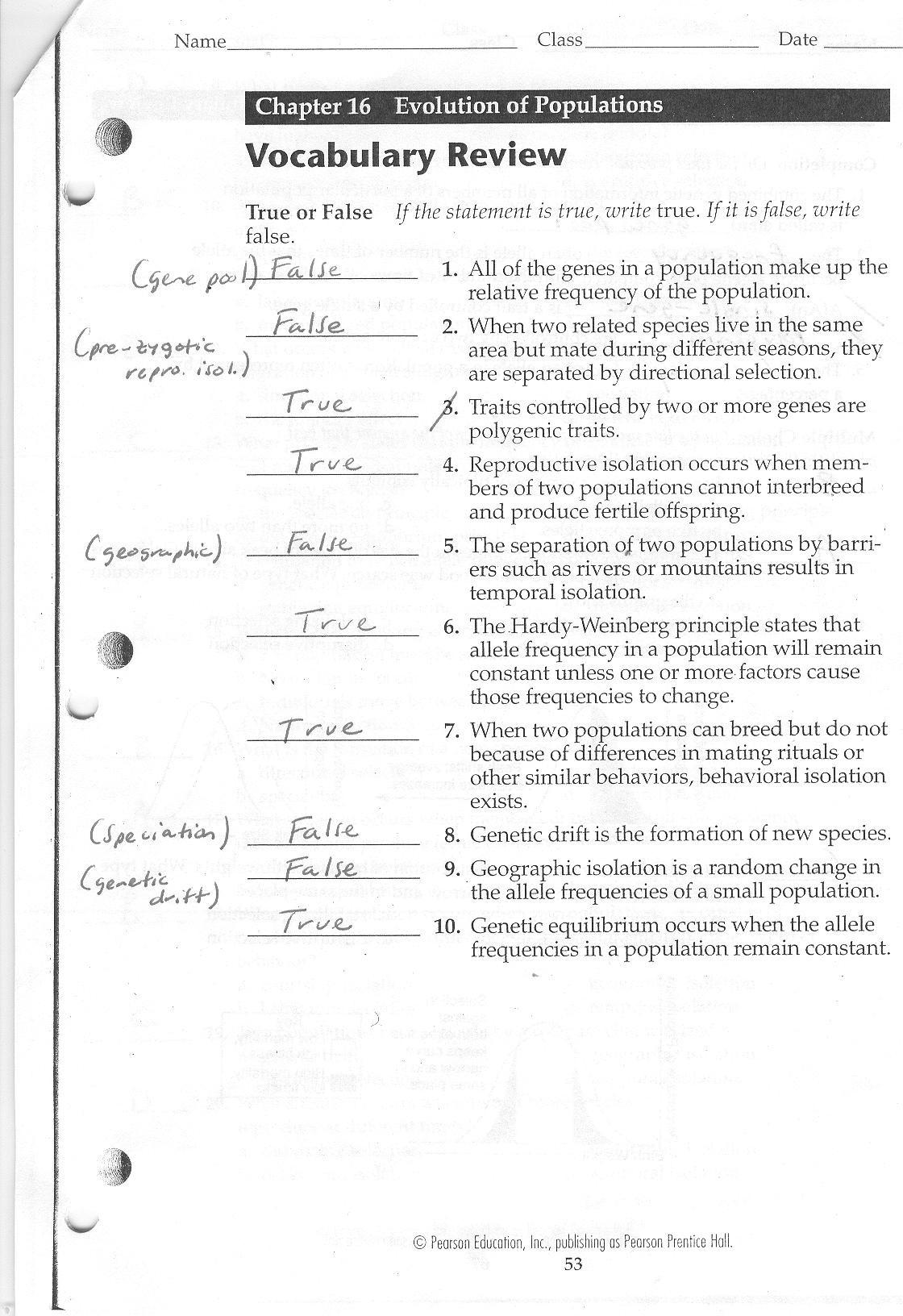 Meiosis Worksheet Vocabulary Answers Straubel Biology 2010 2011