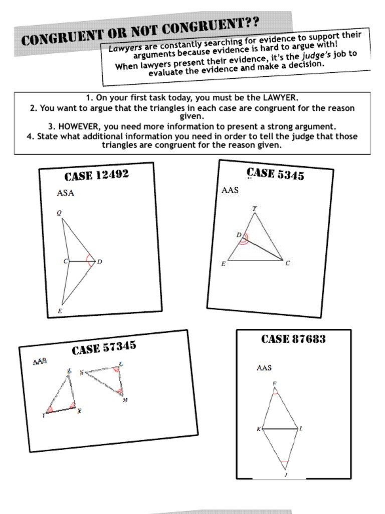 Midsegment Of A Triangle Worksheet 3 7 Angle Angle Side Triangle Congruence Shortcut Worksheet