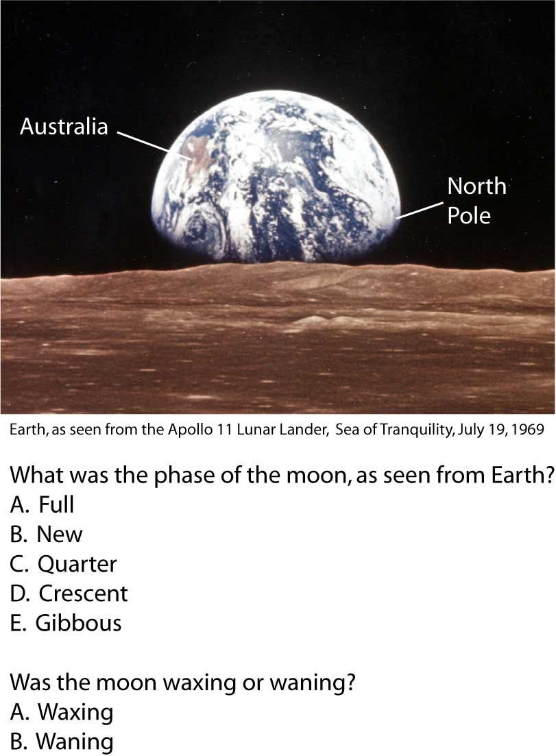 Moon Phases Worksheet Answers Apollo11 Moon Phases Questions
