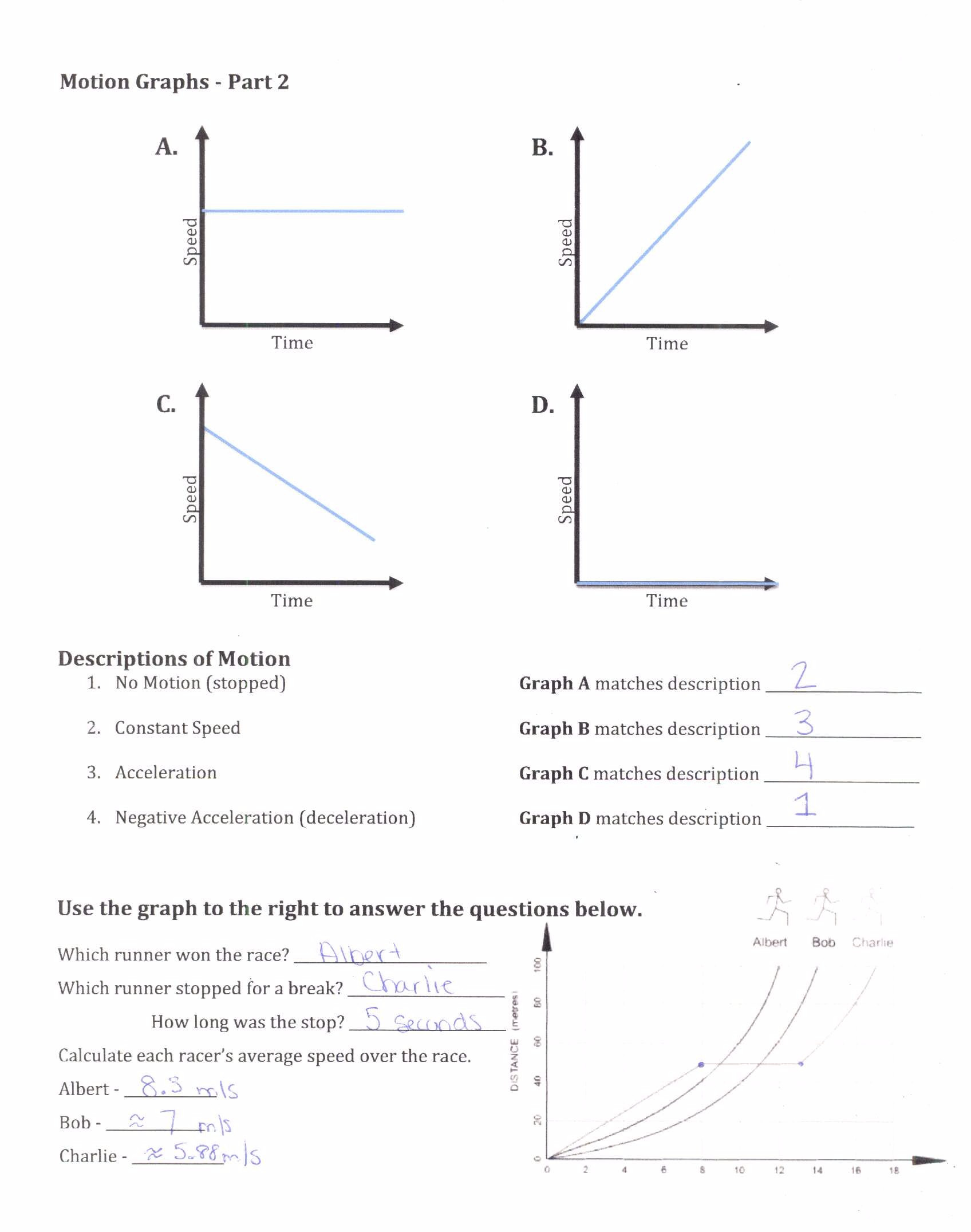 Motion Graph Analysis Worksheet 33 Motion Picture Analysis Worksheet Answers Worksheet