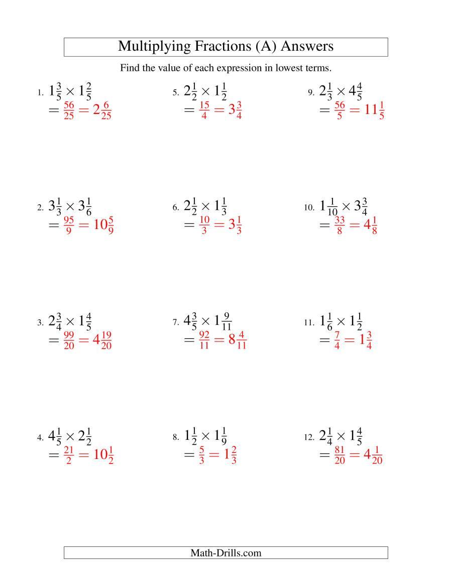 fractions multiplication mixedfractions simplify 001