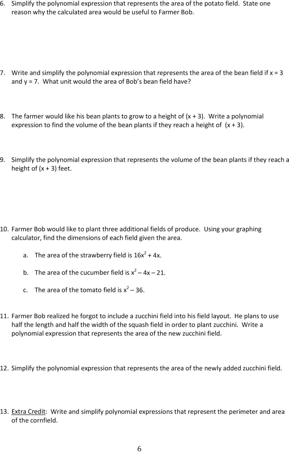 Operations with Polynomials Worksheet Adding and Subtracting Polynomials Worksheet Answers