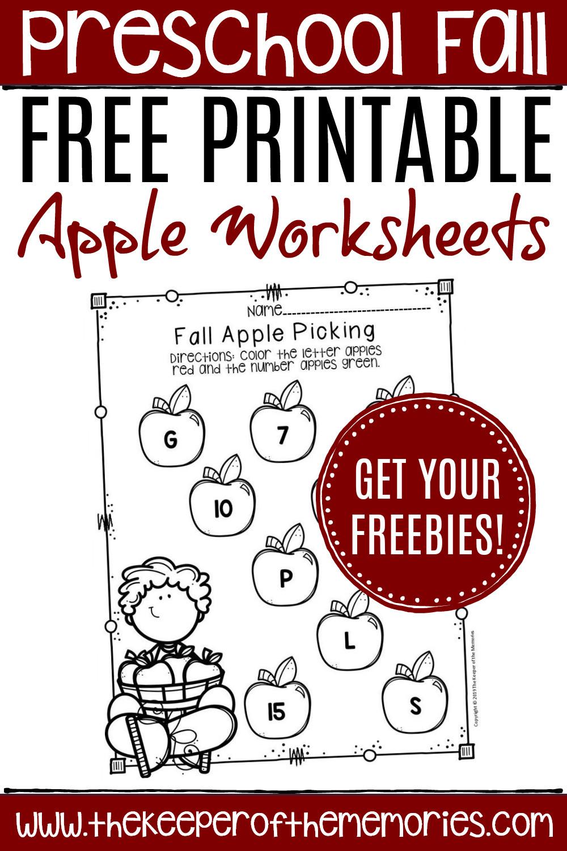 Parts Of An Apple Worksheet Free Printable Apple Worksheets for Preschoolers